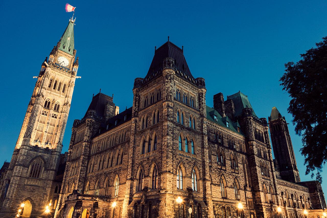 Canada parliament building